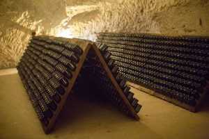 Le suggestive cantine Taittinger (Photo Victor Grigas)